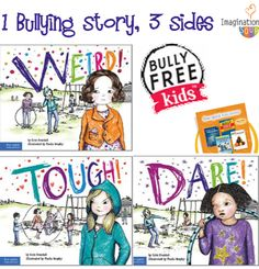 3 fantastic picture books about bullying to use with your kids.