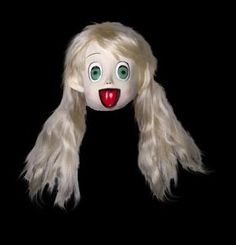 Anime Girl with Hair Mask - 329937 | trendyhalloween.com #halloween #masks #anime