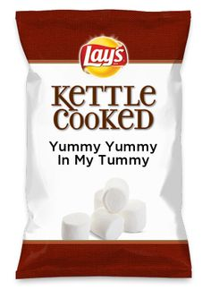 Wouldn't Yummy Yummy In My Tummy be yummy as a chip? Lay's Do Us A Flavor is back, and the search is on for the yummiest flavor idea. Create a flavor, choose a chip and you could win $1 million! https://www.dousaflavor.com See Rules.