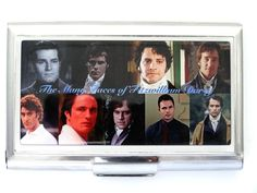 "Mr Darcy business card case PRIDE & PREJUDICE - ""In vain have I struggled. It will not do. My feelings will not be repressed. You must allow me to tell you how ardently I admire and love you."" - Holds 18-20 business cards ... ID notes credit cards etc Unique - not available elsewhere - Ships worldwide"