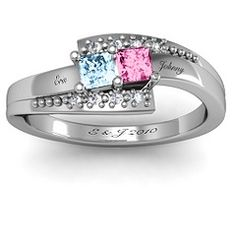 Double Princess Bypass with Accents Ring  $139.00