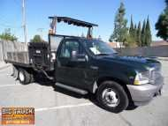 2003 #FORD F350 XL SD $14,500.00 US 2003 #Ford #F350 Super Duty Flatbed, V10 Triton Gas, #Automatic, A/C, Waltco 1,000 LB #Liftgate, Weather #Guard Utility Boxes, 12 ft Flatbed, Directional Arrow Board, Ball Hitch, Pintle #Hitch, 11,000 LBS GVW, Ex-City #Truck, Odometer Reading 68,500.