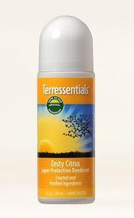 Terressentials Zesty Citrus Super Protection Deodorant 3 oz.!