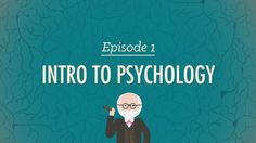 Intro to Psychology - Crash Course Psychology #1. What does Psychology mean? Where does it come from? Hank Green gives you a 10 minute intro to one of the more tricky sciences and talks about some of the big names in the development of the field. Welcome to Crash Course Psychology!!!