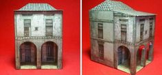 PAPERMAU: Cashmere House Paper Model In HO Scale - by Paperm...