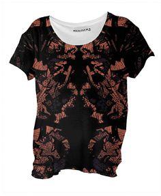 Lace Art drape shirt by ralucaag on Lace Art, Custom Made, Modern, Stuff To Buy, Shirts, Tops, Fashion, Moda, Trendy Tree