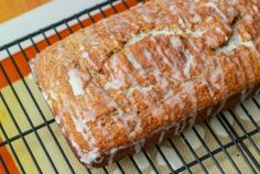 Moist, flavorful banana bread swirled with a thick layer of cinnamon and topped with cream vanilla glaze. ''Cinnamon Swirl Banana Bread'' ♥