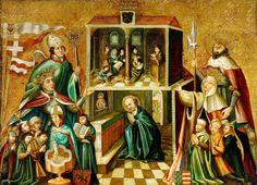 KING WŁADYSŁAW II JAGIEŁŁO (JOGAILA)  AND QUEEN JADWIGA OF POLAND