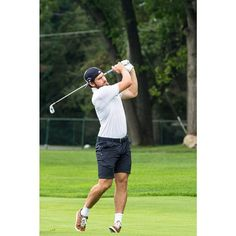 Henrik golfs for a great cause yesterday in the 7th Annual Ilitch Charities Celebrity Golf Classic at Oakland Hills Country Club