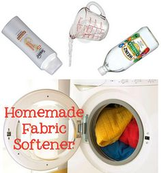 HOMEMADE FABRIC SOFTNER!