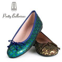 Encuentra el regalo perfecto en Pretty Ballerinas. Pavo Real. #PrettyBallerinas