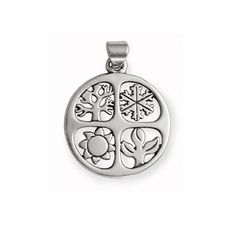 Four Seasons Pendant in Charms Fall 2012 from James Avery Jewelry on shop.CatalogSpree.com, my personal digital mall.