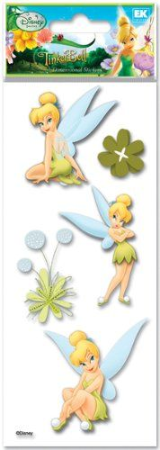 Disney Fairies Tinker Bell Mini Stickers 104 Pack Free Shipping New