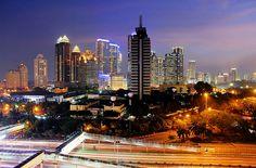 Jakarta Night Cityscape | Semanggi, Jakarta