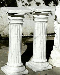 Pilastra Dórica 90 cm ArtCunha Artesanato Em Gesso Est. Bandeirantes, 829, Taquara, Rio de Janeiro, RJ Tel: (21) 2445-1929 / 98558-3595  #pilastra #artesanato #riodejaneiro