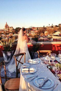 Hotel Rosewood, en San Miguel de Allende.   14 Lugares de ensueño para casarte en México