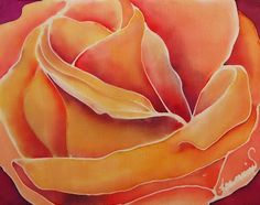 Silk Painting by Francine Dufour Jones - Blog, Gallery and Tutorials