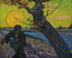 """Vincent van Gogh, """"Sower with Setting Sun,"""" 1888"""
