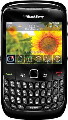 Black Berry 8520 (Black)