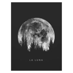Black And White La Luna Moon Phases Wall Art Fine Art Canvas Prints Minimalist Pictures Nordic Style Posters For Living Room Bedroom Decor Black Canvas Art, Black Canvas Paintings, Black And White Canvas, Black And White Painting, Diy Canvas Art, Black Paper, Canvas Prints, Moon Drawing, Moon Art