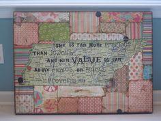 Pattern paper quilt block background