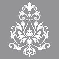 RAYHER 38901000 Schablone Brokatmotiv, 30,5 x 30,5 cm, SB-Btl, 1 Stück