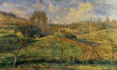 Soleil de mars sur Pontoise, par Camille Pissarro