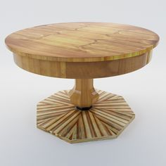 3d model Draw-extension table - South Germany 1820 - 3d model for architects and home designers, designed for project visualization.  This 3D model was modeled after real existing object.  For more 3D models or information about the Physical Furniture Dealer.  Please visit artium3d.com