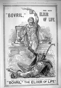 Bovril, the elixir of life.  Kinda aiming high!