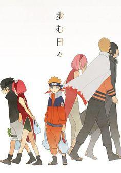 Naruto shippuden and Boruto the movie