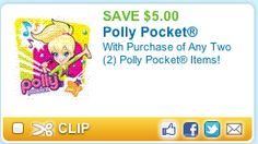 Click image for New Polly Pocket Coupon PLUS Toys R Us Sale!