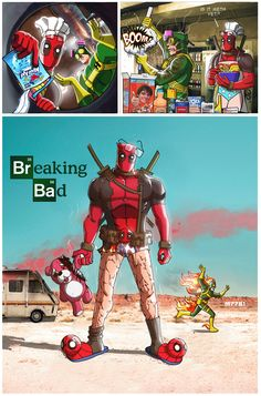 The Line It Is Drawn: Deadpool/Breaking Bad Mashup
