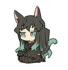 Read Kimetsu No Yaiba / Demon slayer full Manga chapters in English online! Favorite Character, Chibi, Anime Demon, Cute Gif, Slayer Anime, Cute Art, Demon, Fan Art, Anime Chibi