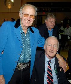 (L-R) Johnny Moore and George Hamilton IV (2011) George Hamilton Iv, Blazer, Men, Blazers, Guys