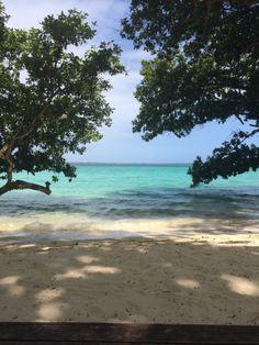 View from Fare 2 at Barrier Beach House, Espiritu Santo, Vanuatu