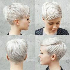 Today we have the most stylish 86 Cute Short Pixie Haircuts. We claim that you have never seen such elegant and eye-catching short hairstyles before. Pixie haircut, of course, offers a lot of options for the hair of the ladies'… Continue Reading → Cute Haircuts, Thin Hair Haircuts, Short Pixie Haircuts, Pixie Hairstyles, Short Hair Cuts, Cool Hairstyles, Short Hair Styles, Pixie Cuts, Haircut Short
