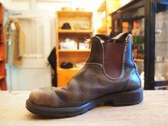 Men's Shoes, Shoe Boots, Blundstone Boots, Skor, Footprints, Workwear, Chelsea Boots, Men's Fashion, Boards
