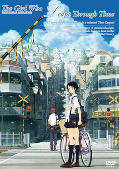 The Girl Who Leapt Through Time, Movie poster
