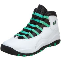 Jordan Air Jordan 10 Retro 30Th Big Kids ($166) ❤ liked on Polyvore featuring shoes and s h o e s