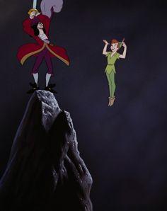 Hook and Peter Peter Pan 3, Peter Pan Movie, Peter And Wendy, Peter Pan Disney, Disney Day, Disney Love, Disney Magic, Disney Pixar, Walt Disney