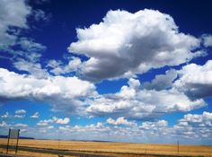 Endless clouds near Raton, NM - I just love the clouds in New Mexico!!!!
