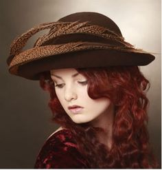 girl with beautiful hats  style