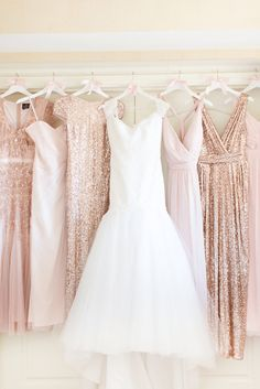 blush rose brides maids dresses, blush toned wedding, pantone pale dogwood, dusty rose, dusty pink, blush rose, blush pink, rose quartz, rose gold, cream, blush beige