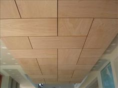 Plywood Ceiling