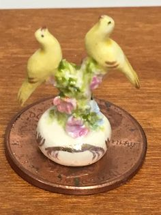 Puppenstuben & -häuser Dolls House Miniature Majolica Table Centrepiece by Veronique Cornish HANDMADE