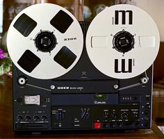 Uher SG631 Logic tape recorder. http://www.pinterest.com/TheHitman14/ghosts-of-audios-past/