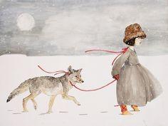 The Silence of Snow 8.5x11 art print
