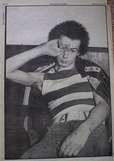 Sid Vicious, Sounds, Decemeber 1978.