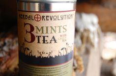 Organic Herbal Tea, Herbalism, Mint, Herbs, Drinks, Bottle, Revolution, Green, Food