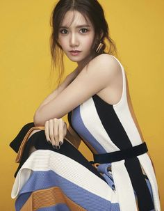 Girls' Generation's YoonA Is the Beautiful Cover Girl for 'Vogue Taiwan'… … Girls Generation, South Korean Girls, Korean Girl Groups, Yoona Snsd, Idole, Beautiful Cover, Vogue Magazine, Girls Magazine, Mannequin